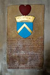 Tombeau de cœur de Jean de Gorrevod (mort en 1544) église Notre-Dame de Pont-de-Vaux (Ain, France)