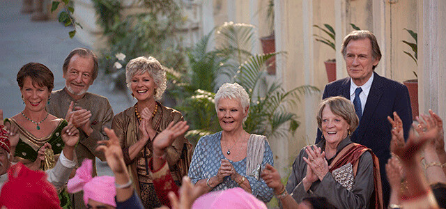 The (still living) gang offers diminishing returns in THE SECOND BEST EXOTIC MARIGOLD HOTEL.