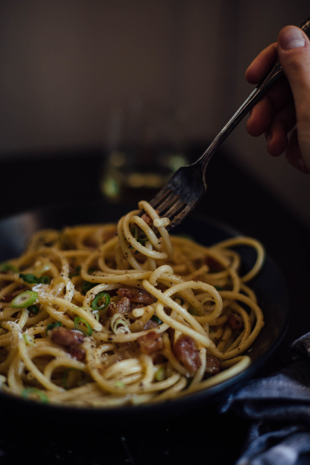 carbonara for the communal table