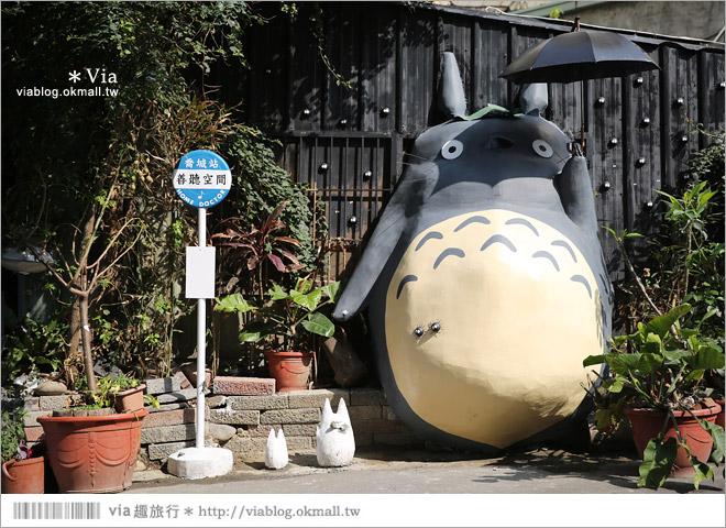 【大里龍貓】台中大里龍貓公車站《喬城站》~可愛的立體龍貓超吸睛!拍照去~4