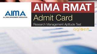 RMAT Admit Card 2016