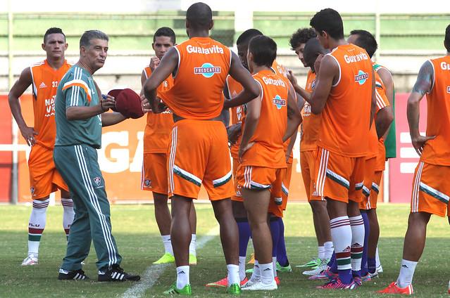 Fluminense: Elenco tricolor se reapresenta e titulares fazem trabalho regenerativo
