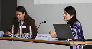 Dr. Saskia Hieber und Waslat Hazrat-Nazimi
