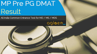 Pre PG DMAT 2015 Result