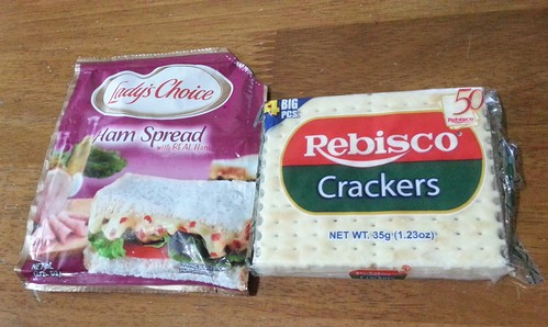 Lady's Choice Ham Spread + Rebisco Crackers 20150402_152549-1