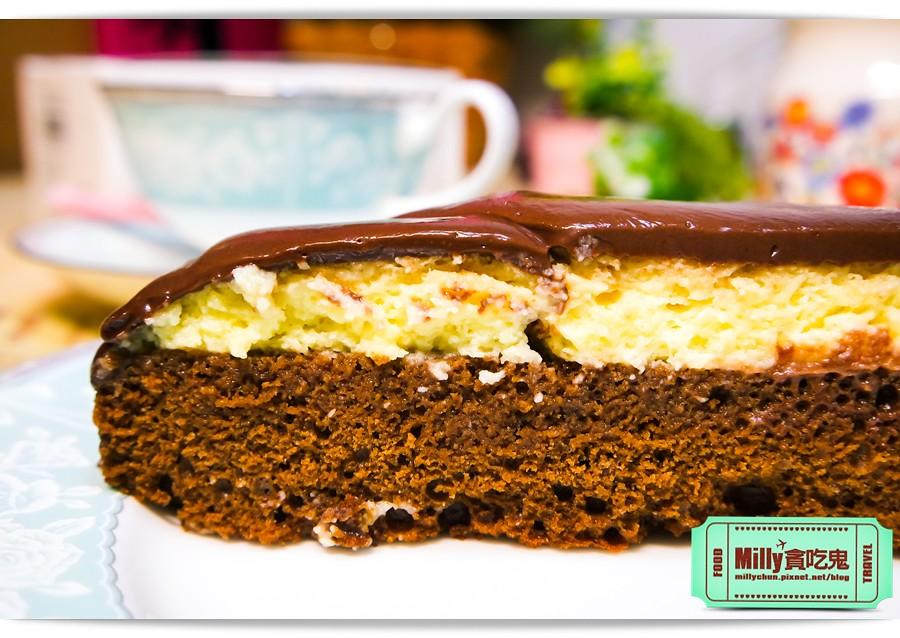 樂樂甜點超濃生巧克力布朗尼蛋糕0009