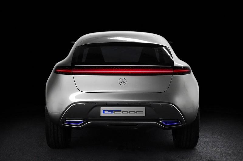 Дизайн кроссовера Mercedes-Benz G-Code