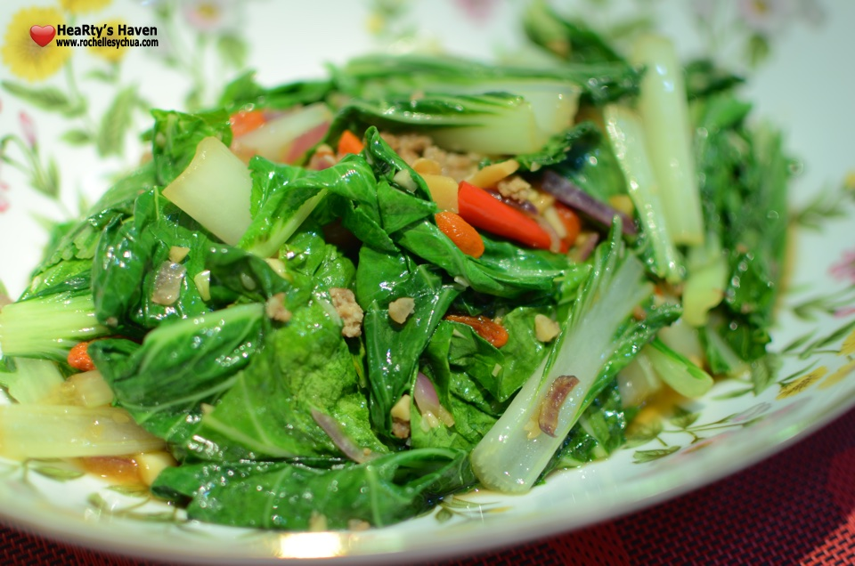 Stir-fried Pechay