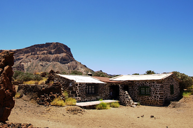 Sanatorio Building in Teide National Park, Tenerife