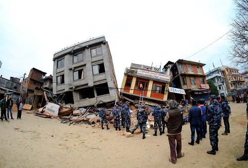 У Непалі стався потужний землетрус