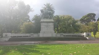 Imagen de Queen Victoria Memorial. queenvictoriagardens kingedwardvii melbournevictoria
