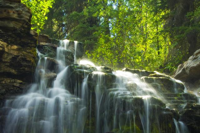 Upper Quality Falls, BC, Canada