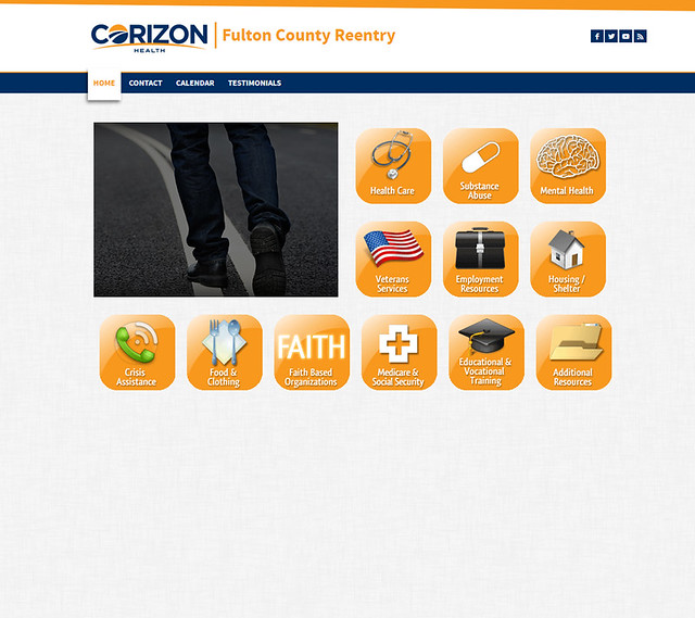 Corizon Health launches online resource site for former inmates in Fulton County