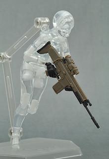 figma可動系列對應交換用 持槍手首配件