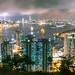 Hong Kong skyline by Lefty Jordan