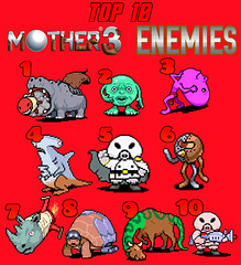 Top 10 Week 2016 Video Game Friday Top 10 Mother 3 Enemi Flickr