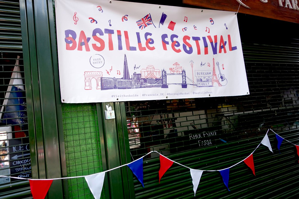 Bastille Day, Borough Market, Bankside