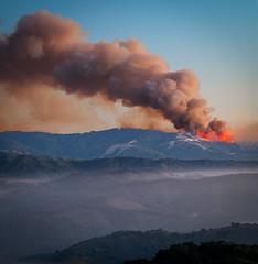 Soberanes Fire - Big Sur, CA