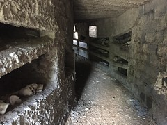 Model of the catacombs in Rome