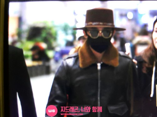 Big Bang - Incheon Airport - 31jan2015 - G-Dragon - With G-Dragon - 01
