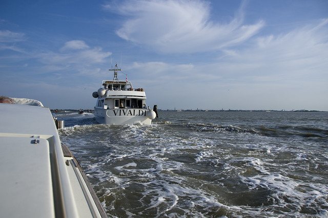 Busy waterway from VNC to Venice
