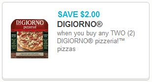 picture about Digiorno Printable Coupon identified as Reset* $2/2 DiGiorno Pizzeria! Pizza Printable Coupon ($3.24