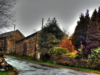 country lane nr bradfield