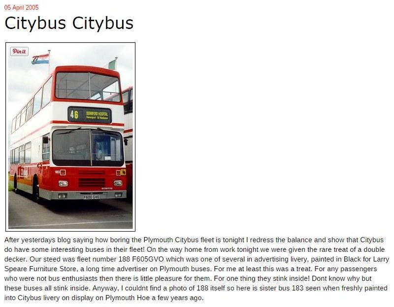 Plymothian Transit- Citybus Citybus