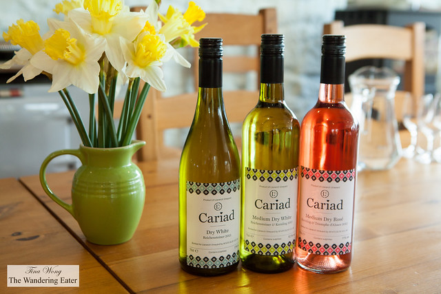 Cariad wines by Llanerch Vineyard