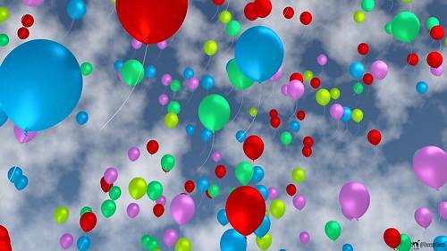 Floating ballons