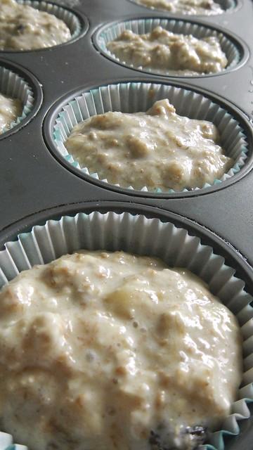 Banana Oat Bran Muffins 8