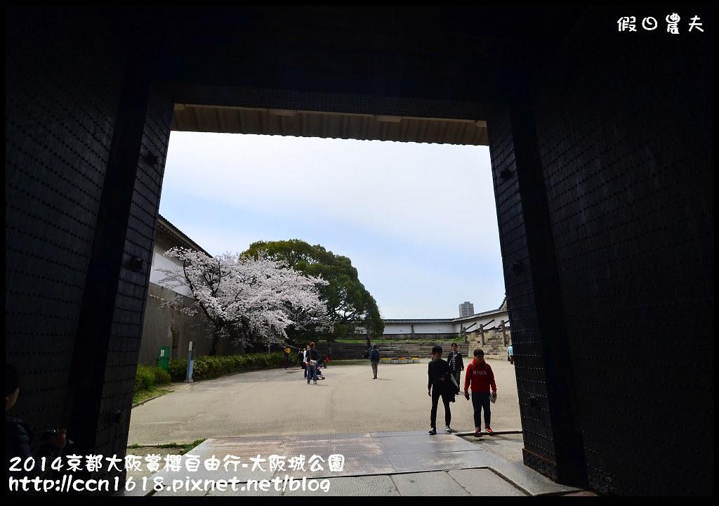 2014京都大阪賞櫻自由行-大阪城公園DSC_1914