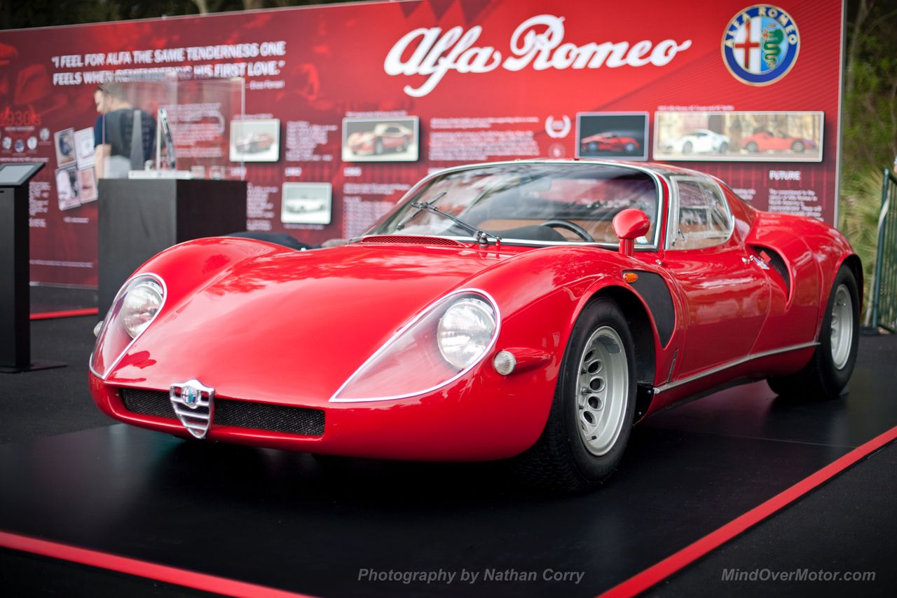 Alfa Romeo Tipo 33 Stradale at Amelia Island