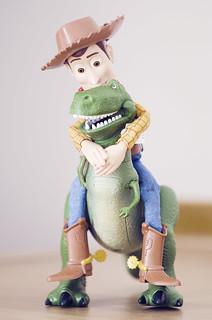 Woody et Rex