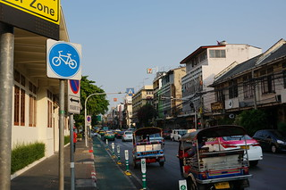Our street in Bangkok