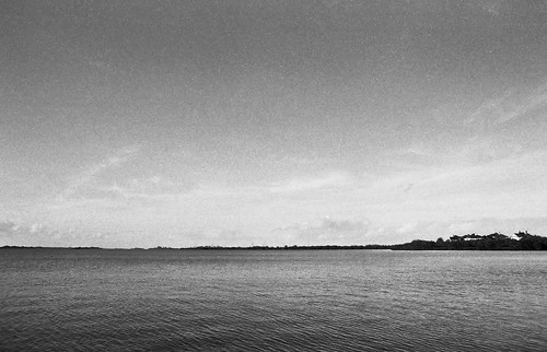 sky blackandwhite bw film water monochrome clouds florida ilfordhp5 hp5 ilford impression indianriverlagoon wabasso littletinperson