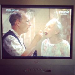 """""""I wanna grow old with you"""" #Cocoon #80s #wonderyears #favmovies #cantstopcrying"""