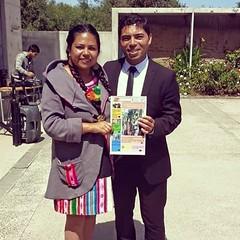 Con el concejal Pablo Yañez en la celebración del día de la mujer. Actividad organizada por PRODEMU. (Atrasadita la foto jijiji),#todosleenajayu :blush::smiley::smiley::smiley: