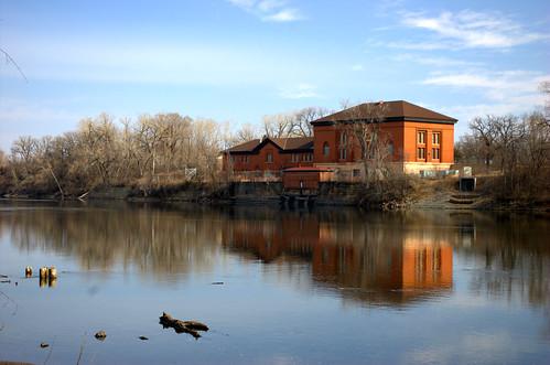 Waterworks Mississippi Minneapolis Minnesota spring 2015
