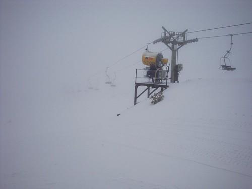 Niebla en Valdesquí