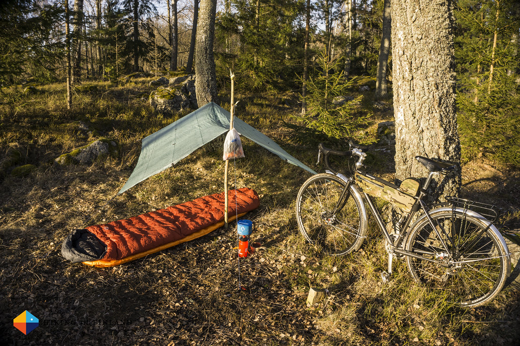 A lightweight spring adventure by bike