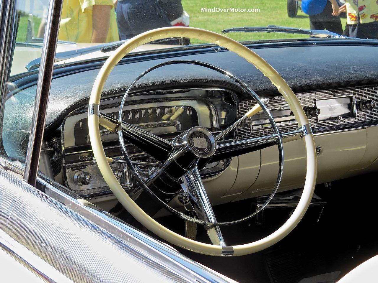 1956 Cadillac Eldorado Dashboard Detail