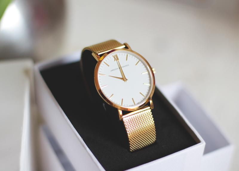 Gold Metal Chain Watch, Bumpkin Betty