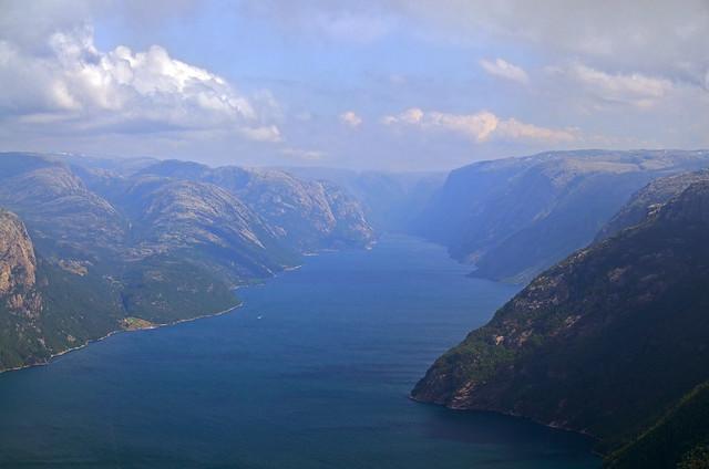 Fiordo Lysefjord
