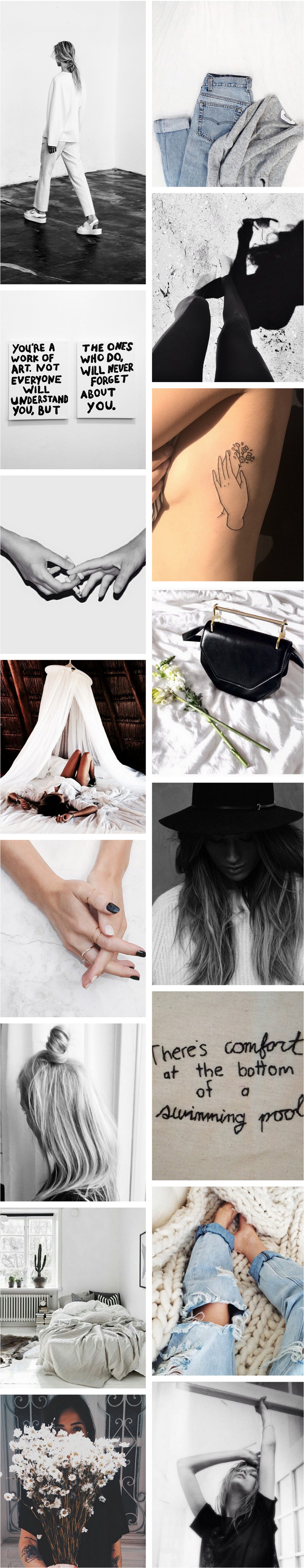Fashion Blogger Collage Trends 2015