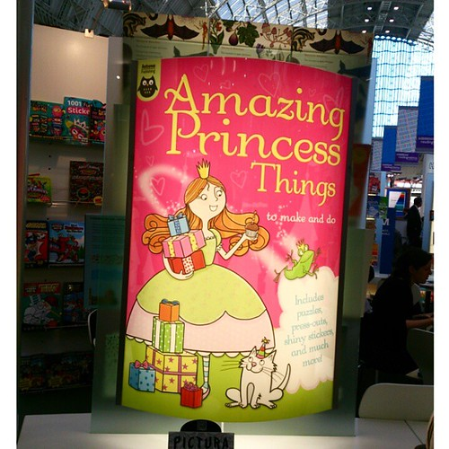 Yeeeehhhh, boi! Princesses in the house on the @autpublishing stand #lbf