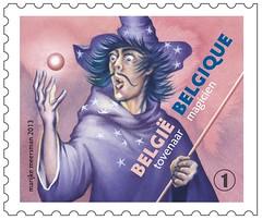 02 PERS DE CONTES timbre4 magicien