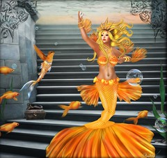 Goldfish Mermaid