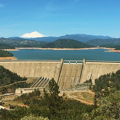 the south takes what the north delivers #shastadam #drought #infrastructure