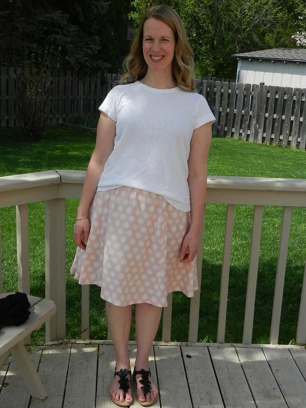 Rae skirt front
